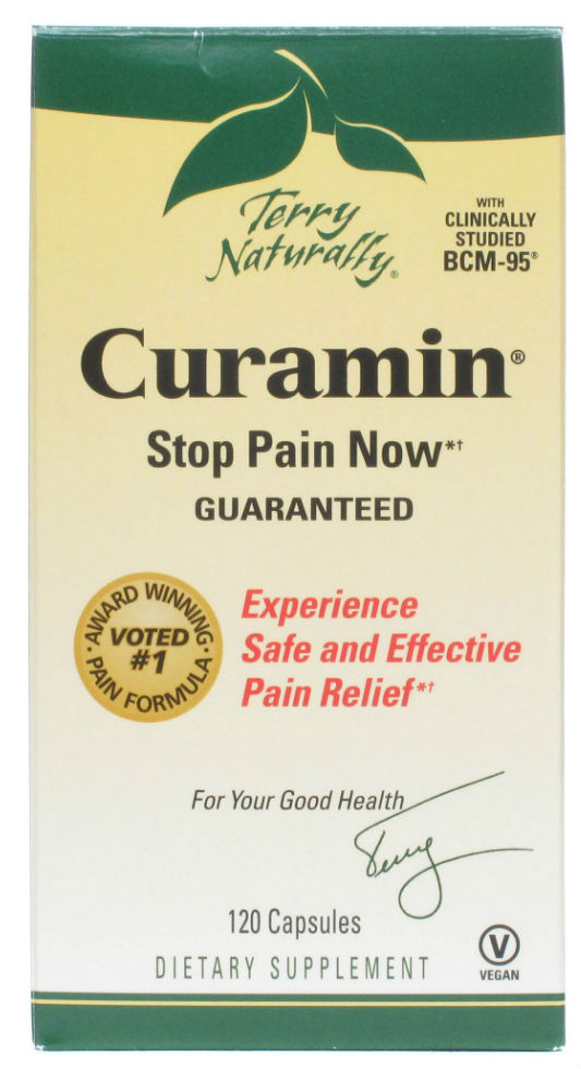 EuroPharma: Curamin (End Inflammation Pain) 120 caps