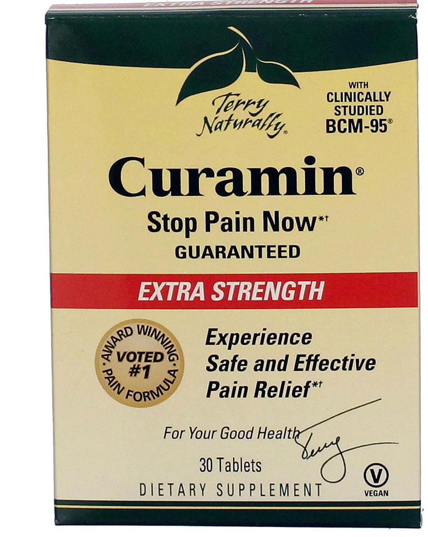 EuroPharma: Curamin Extra Strength Blister Pack 30 tabs