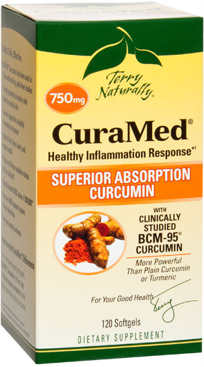 CuraMed 750mg, 120 Softgel