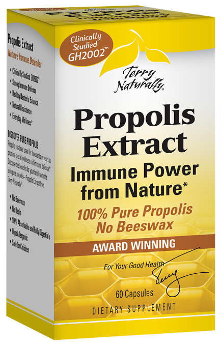 Propolis Extract 100mg EP300, 60 Caps