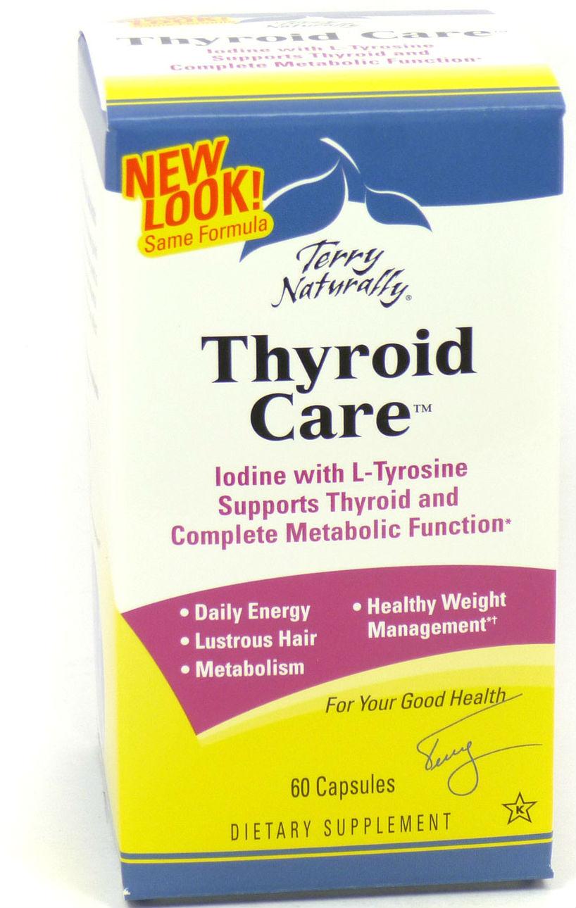 thyroid care (3 kinds of iodine and L-tyrosine)