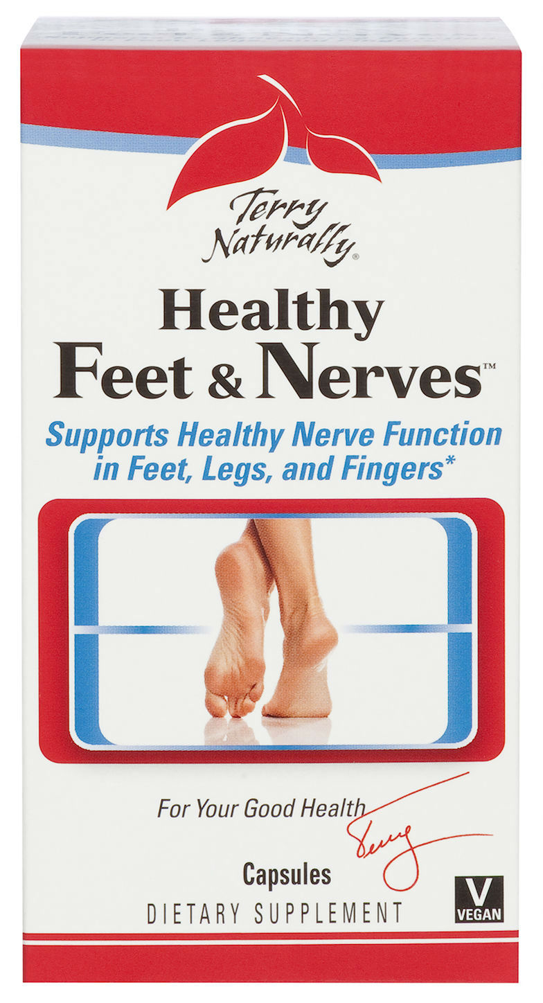 Healthy Feet And Nerves, 120 Caps