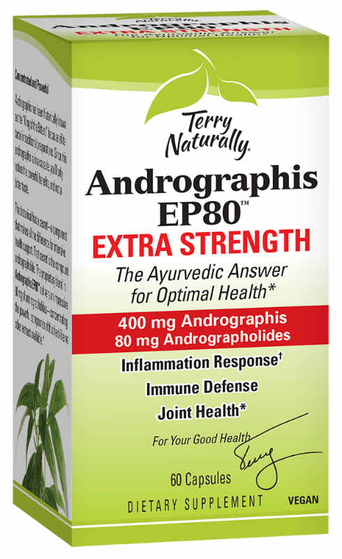Andrographis EP80 Extra Strength, 60 Capsules
