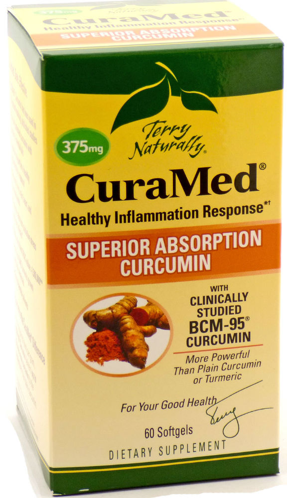 CuraMed 375mg, 60 softgels