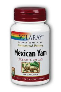 Solaray: Mexican Yam Root Extract 60ct 275mg