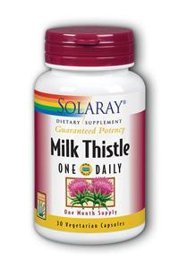 Solaray: Milk Thistle One Daily 350mg 30ct