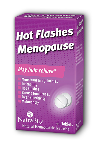 NATRA-BIO/BOTANICAL LABS: Hot Flashes  Menopause Relief 60 tabs