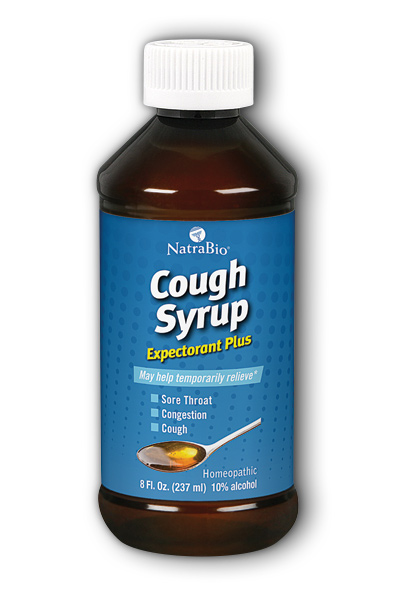 NATRA-BIO/BOTANICAL LABS: Adult Cough Syrup 8 fl oz