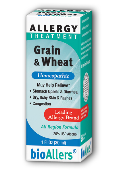 NATRA-BIO/BOTANICAL LABS: bioAllers Food Allergies Grain Relief 1 fl oz