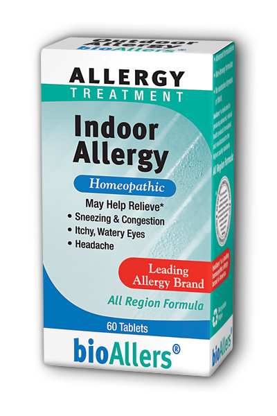 NATRA-BIO/BOTANICAL LABS: bioAllers Indoor Allergy 60 tabs