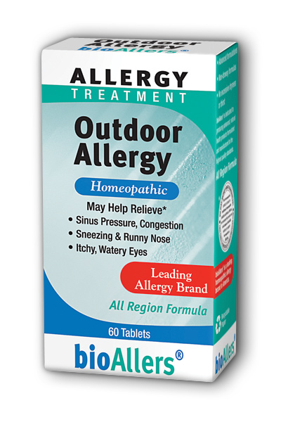NATRA-BIO/BOTANICAL LABS: bioAllers Outdoor Allergy 60 tabs