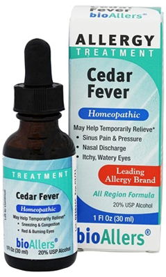 Cedar Fever Relief, 1 oz Liq