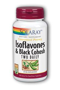 Solaray: Isoflavones & Black Cohosh Two Daily 60ct