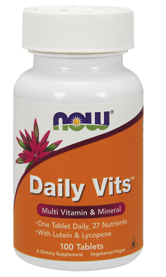 NOW: DAILY VITS  MULTI  100 TABS 1