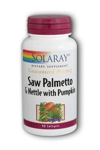 Solaray: Saw Palmetto & Nettle Root with Pumpkin 90ct 780mg