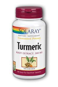 Solaray: Turmeric Extract 60ct 300mg