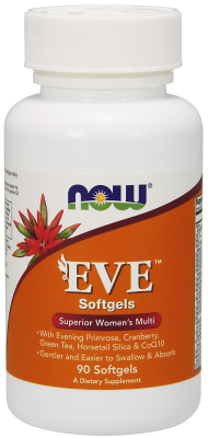 NOW: Eve Womens Multiple Vitamin 90 Softgels