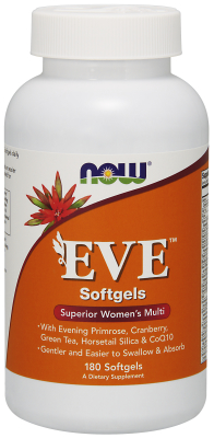 NOW: Eve Womens Multiple Vitamin 180 Softgels