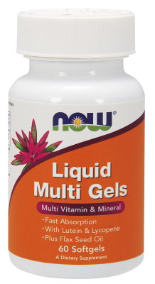Liquid Multiple Softgels 60 Gels from NOW