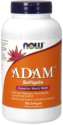 NOW: Adam Mens Multiple Vitamin 180 Softgels