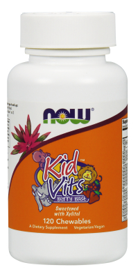 NOW: Kid Vits - Berry Blast Multi-Vitamin 120 Chewables