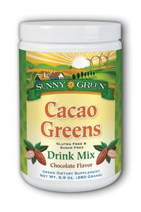 Sunny Green: Cacao Greens Drink Mix 9.9oz