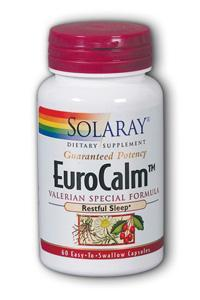 Solaray: EuroCalm Valerian Root 60ct