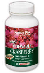 Natures Plus: ULTRA CRANBERRY CHEWABLE 180 180 ct