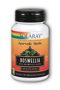 Solaray: Boswellia Resin Extract 60ct 300mg