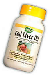 NATURE'S WAY: Cod Liver Oil 100 caps