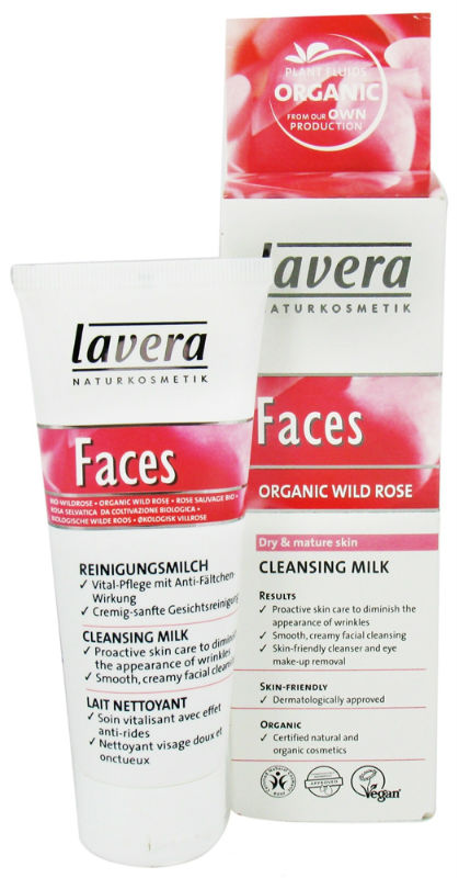 LAVERA: Faces-Cleansing Milk Wild Rose 2.5 oz