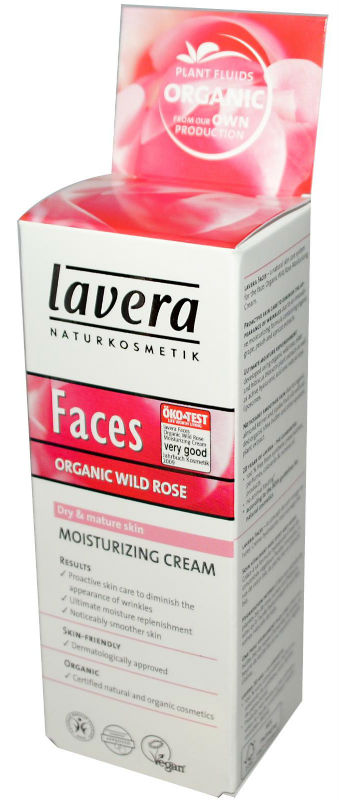 LAVERA: Faces-Moisturizing Cream Wild Rose 1 oz