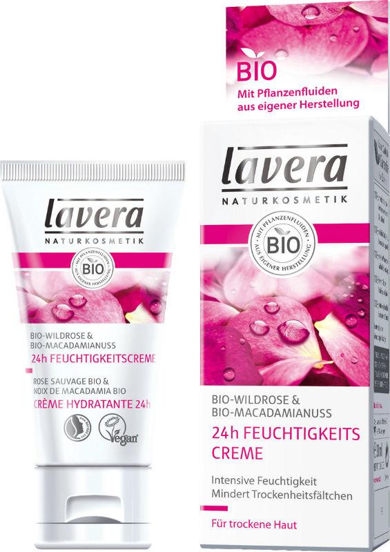 LAVERA: Hand Cream Organic Wild Rose 5 oz