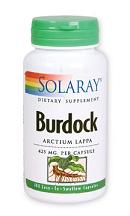 Solaray: Burdock Root 100ct 425mg