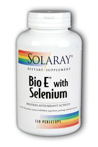Solaray: Bio E with Selenium 120ct 400IU
