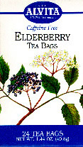 ALVITA TEAS: Elderberry Tea 24 bags