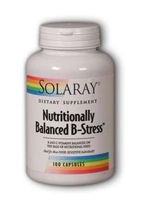 Solaray: Nutritionally Balanced B-Stress 100ct