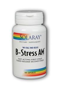 Solaray: Two-Stage B-Stress A.M. 60ct