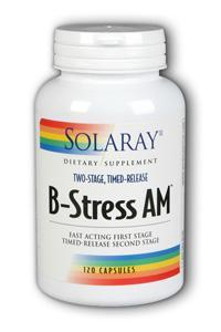 Solaray: Two-Stage B-Stress A.M. 120ct