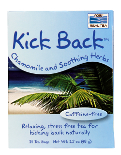 NOW: Kick Back Chamomile Soothing Tea 24 bags