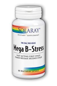 Solaray: Two-Stage Mega B-Stress 60ct