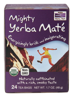 Mighty Yerba Mate Organic, 24 tea bags