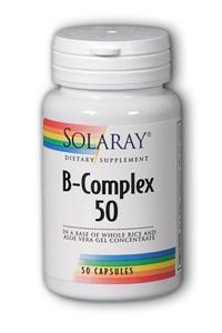 Solaray: B Complex 50 50ct