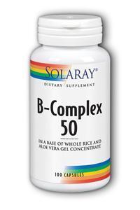 Solaray: B Complex 50 100ct