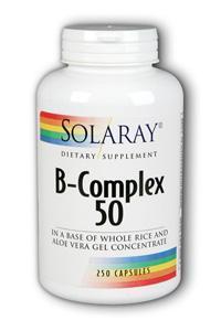 Solaray: B Complex 50 250ct
