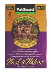 Pet Guard: Cat&kitten,chicken,prem dry 18