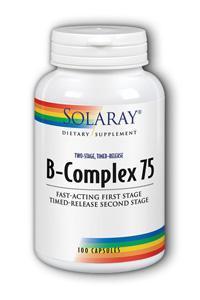 Solaray: B-Complex 75 100ct