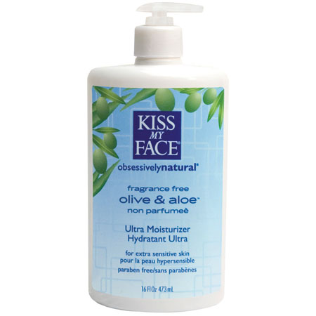 KISS MY FACE: Moisturizer Fragrance Free 16 oz