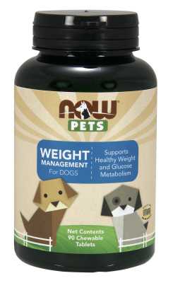 NOW: Pet Weight Management (For Dogs) 90 Loz.