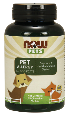 NOW: Pet Allergy Chewable Tabs 75 Loz